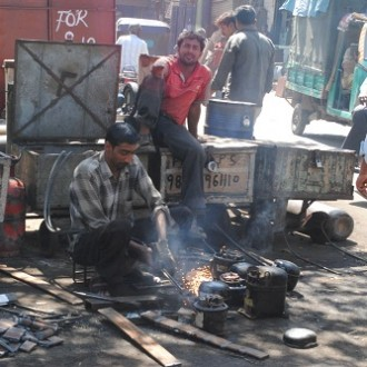 Sparks Of Hard Work: Bamboo Bazaar, KR Market, Bangalore #PhotoNama