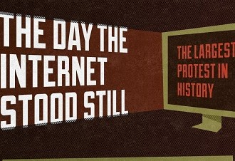The Day The Internet Stood Still [Infographic] #SOPA