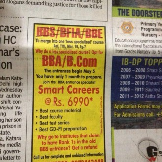 BBS-BFIA-BBE Course Merger: Has Delhi University Made A Blunder?