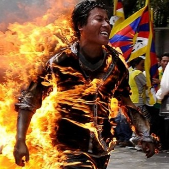 The Fire That's Burning Tibet