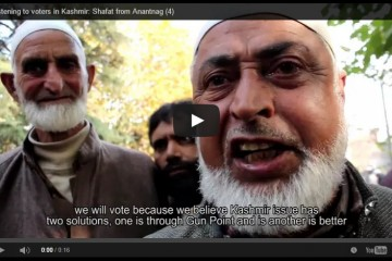 kashmir elections video volunteers