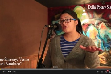 Delhi poetry slam..